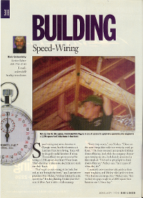 Article in Builders Magazine